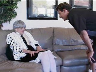 Порно полных бабушек